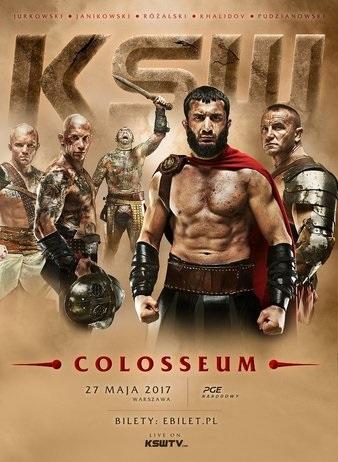 معرفی رویداد بزرگ KSW 39: Colosseum (بزرگترین رویداد اروپا)
