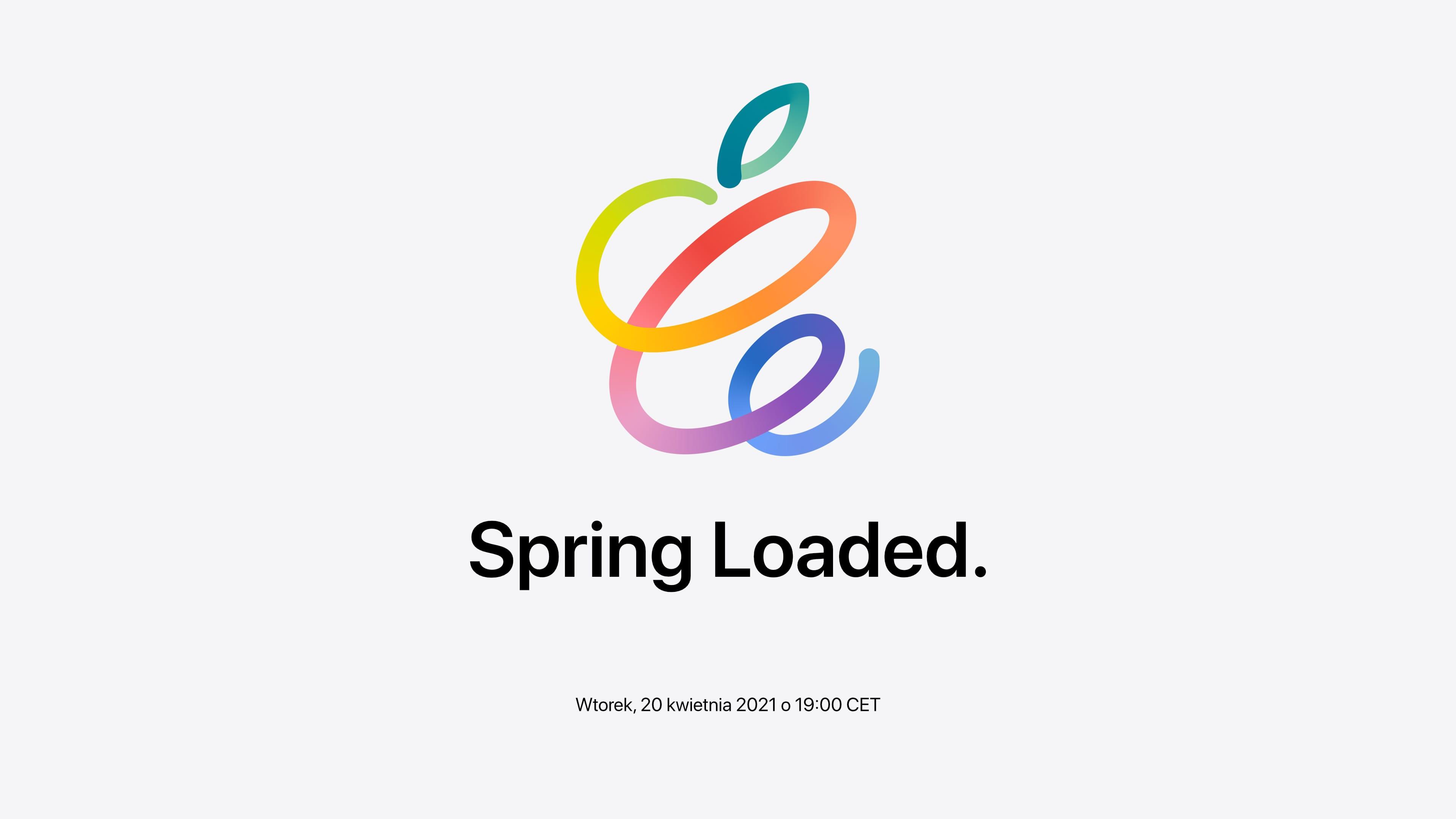 رویداد جدید اپل Spring loaded