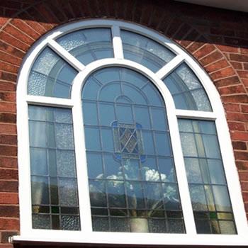 خم انواع پروفیل upvc و مونتاژ در محدوده کرج شهریار- پنجره هلالی- قوس خم زاویه دار سینوسی -دایره