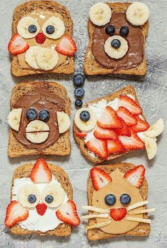 [تصویر: تزئین خوراکی ها برای کودکان]