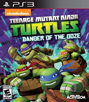 دانلود بازی Teenage Mutant Ninja Turtles Danger of the Ooze برای PS3