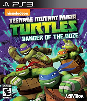دانلود بازی Teenage Mutant Ninja Turtles Danger of the Ooze برای PS3