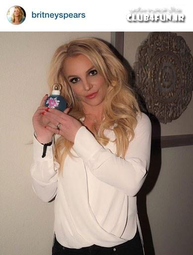 بریتنی اسپیرز و عطر جدیدش