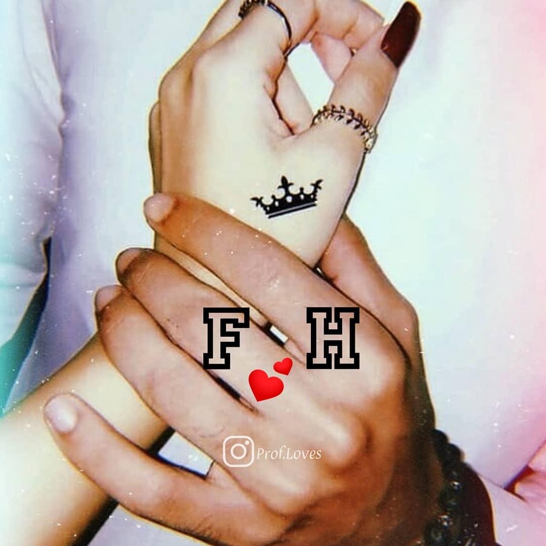 حرف h و f