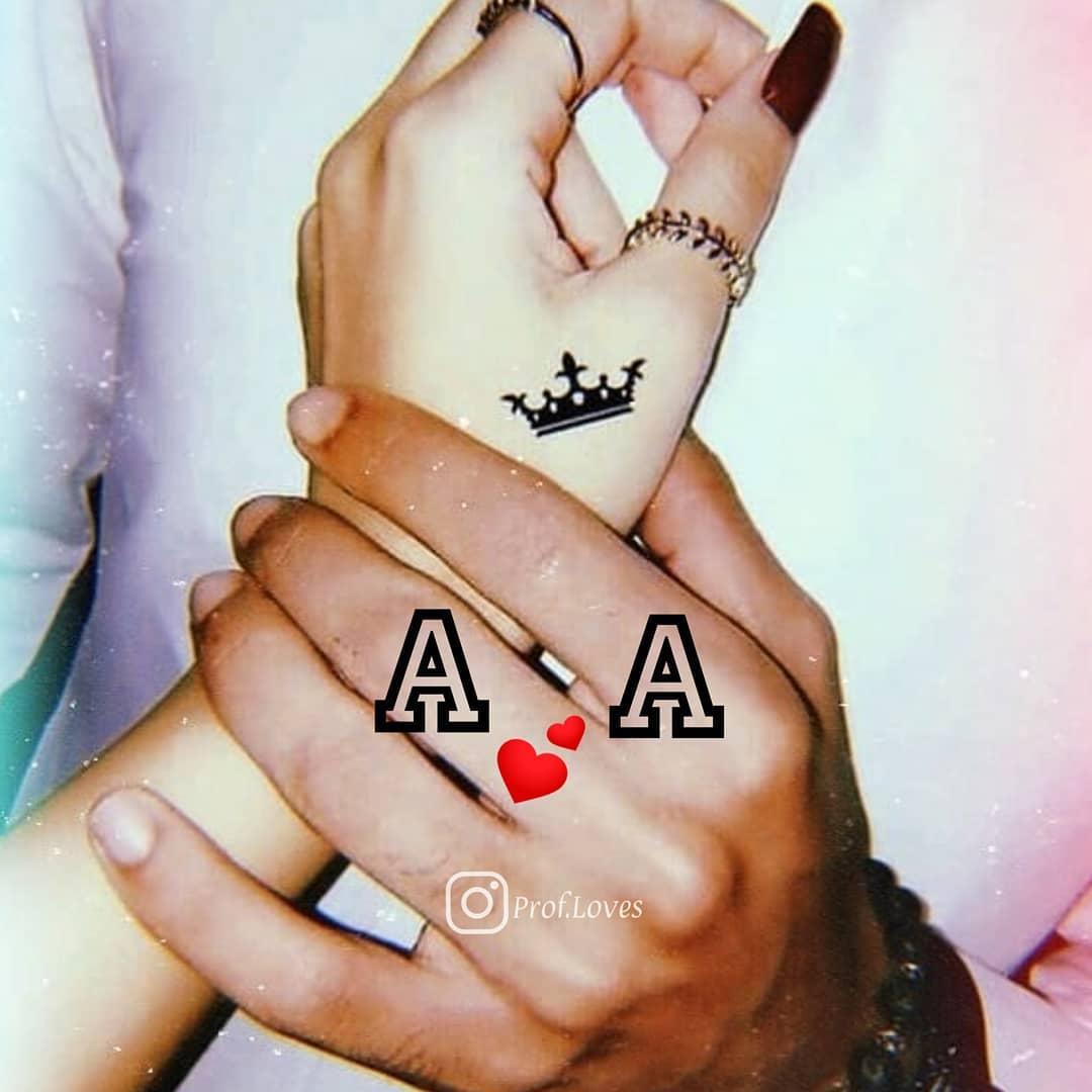 حرف a و a