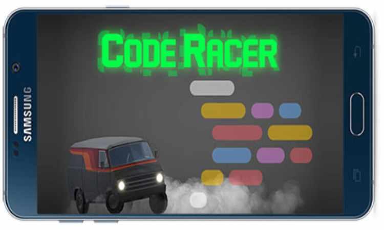 بازی اندروید Code racer