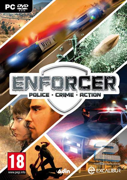 دانلود بازی Enforcer Police Crime Action برای PC