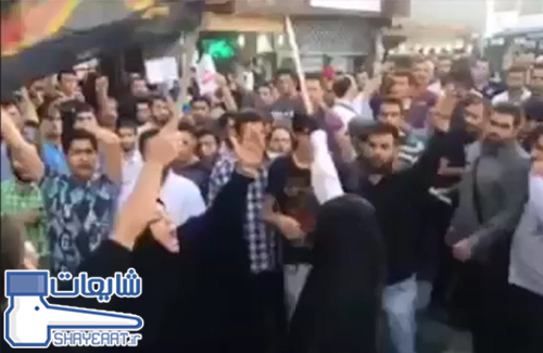 فیلم قمه زنی دختر بسیجی در اعتراض به اکران فیلم رستاخیز ! / شایعه ۰۶۱۵