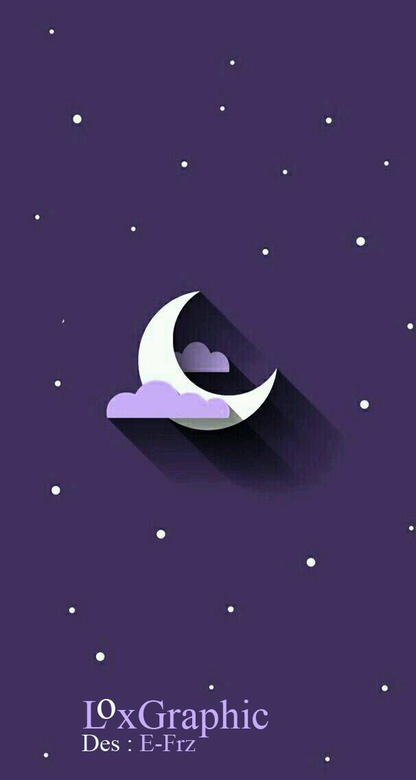 SKAY-آسمان | طراحی گرافیکی ماه و ستاره | طراحی گرافیکی آسمان
