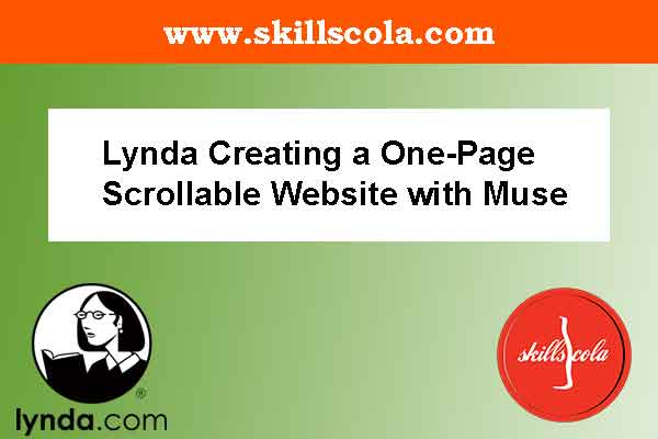 Lynda Creating a One-Page Scrollable Website with Muse