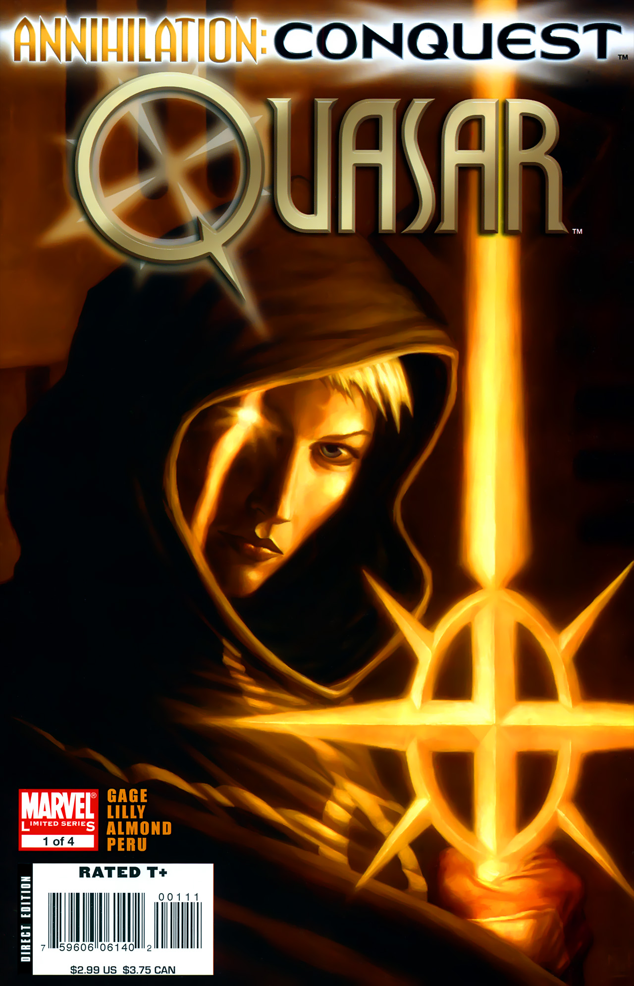 Annihilation: Conquest - Quasar #1-4 - 2007