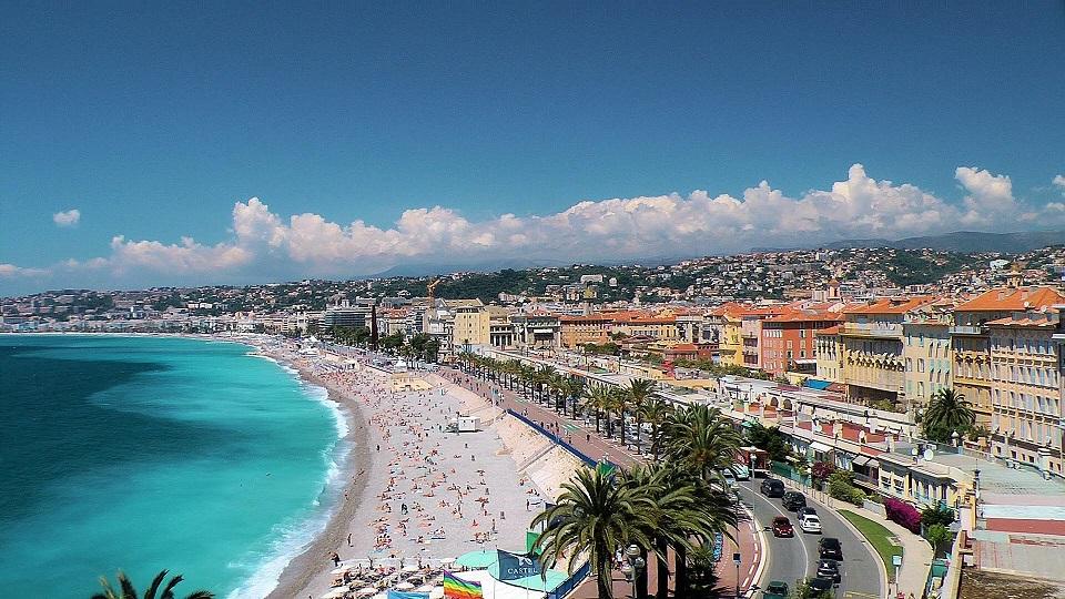 The Promenade des Anglais تفرجگاه آنگلایس