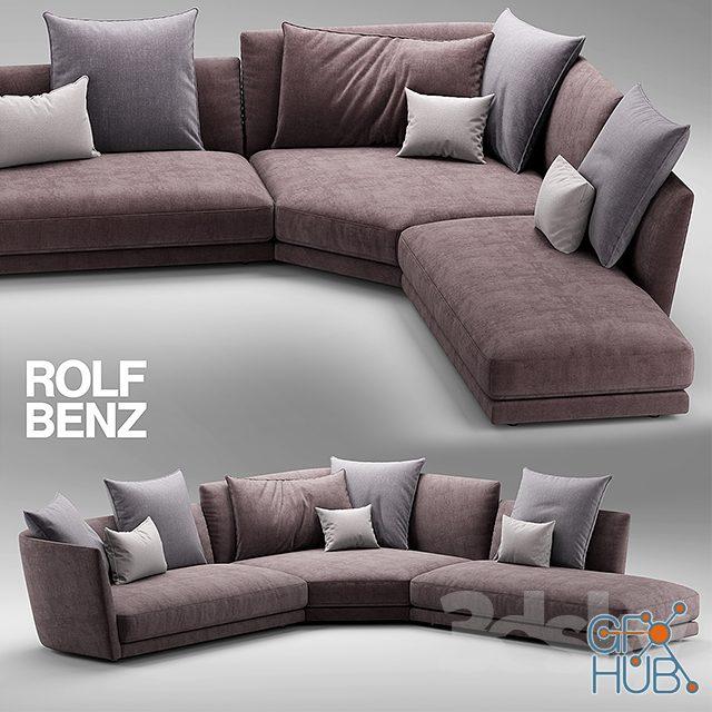 ax6f 1552148627 sofa rolf benz tondo 02 - مجموعه مدل سه بعدی تخت و مبلمان - 001