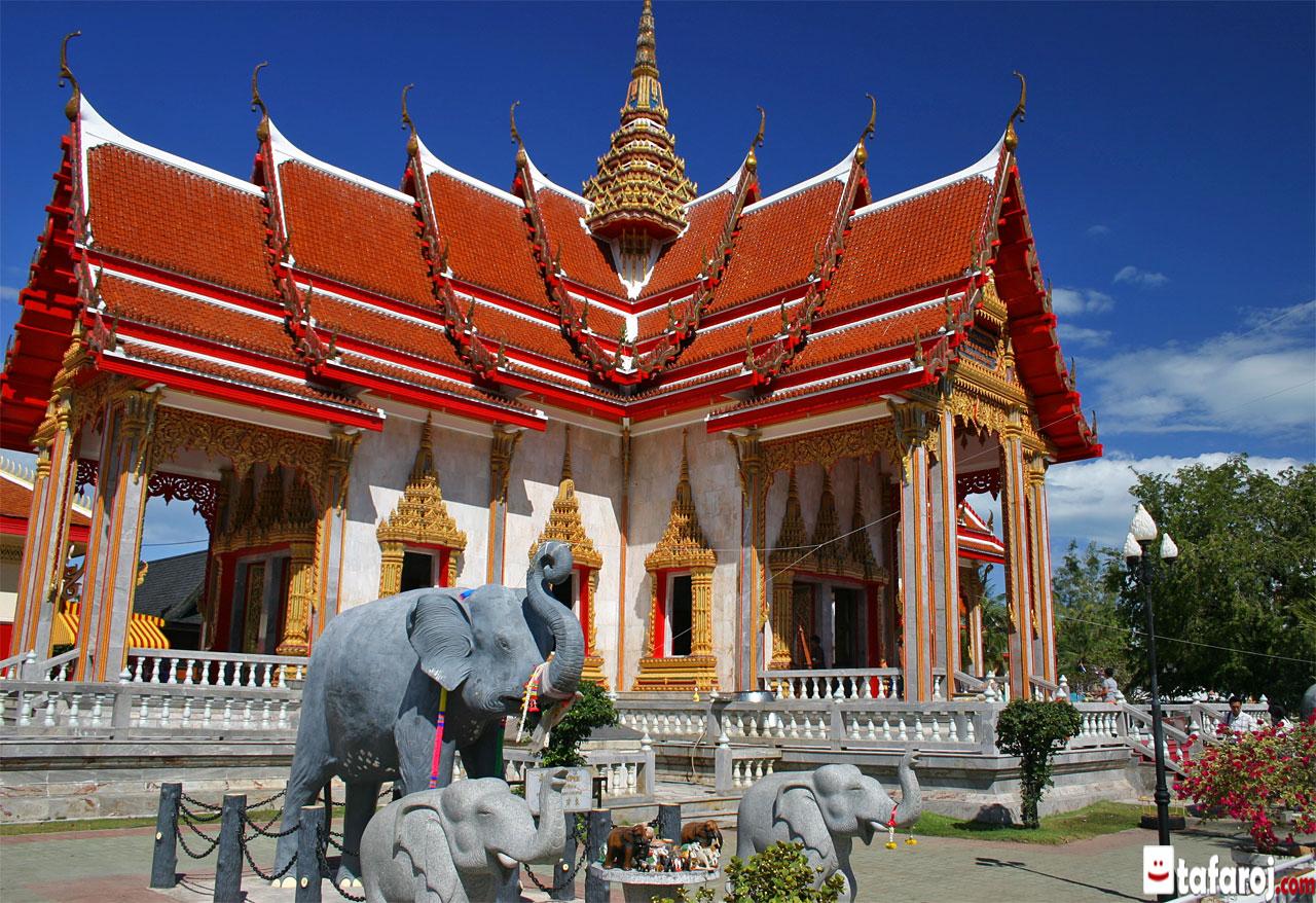 معبد چالونگ پوکت کشور تایلند