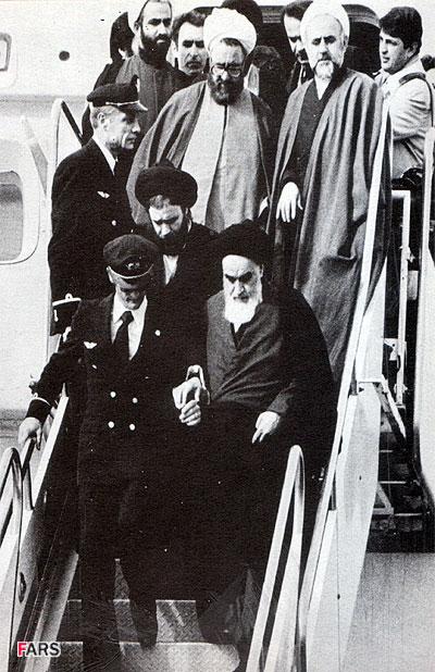 دوازده بهمن57 روز ورود امام خمینی به وطن مبارک باد