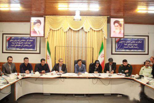 جلسه ستاد مدیریت بحران شهرستان گرگان برگزار شد