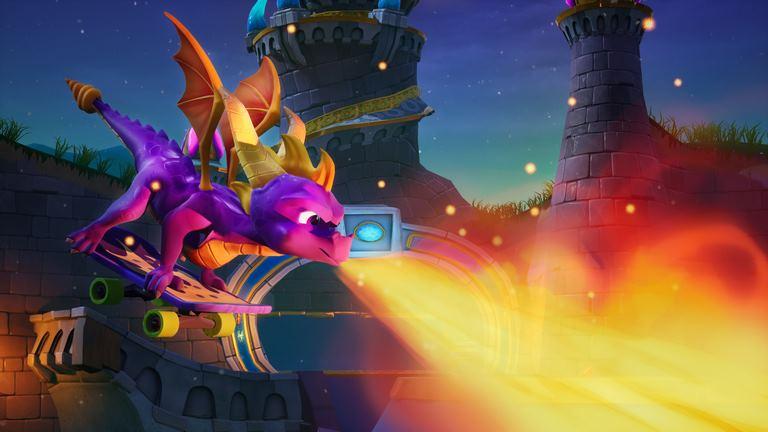 Spyro the Dragon insomniac games