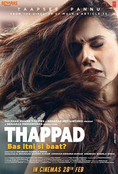 دانلود فیلم Thappad 2020