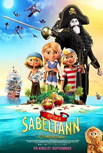 دانلود انیمیشن Captain Sabertooth and the Magic Diamond 2019