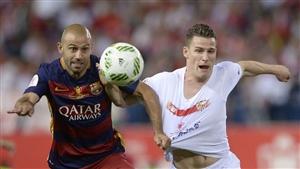 نتیجه بازی دیشب بارسلونا و سویا 16 آبان 95 فیلم خلاصه و گلها