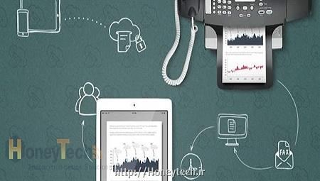 دفتر کار مجازی و مدیریت فکس ها