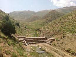 اجرای پروژه احداث سنگ و ملات چهل چای مینودشت با حجم 755 مترمکعب