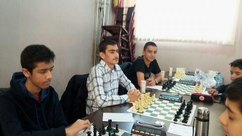 حضور در لیگ شطرنج تهران1397