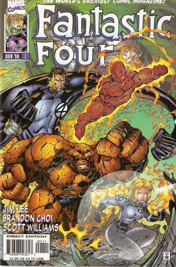 كميك fantastic four