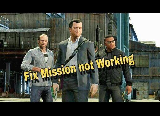 حل مشکل باز نشدن مراحل بازی GTA V
