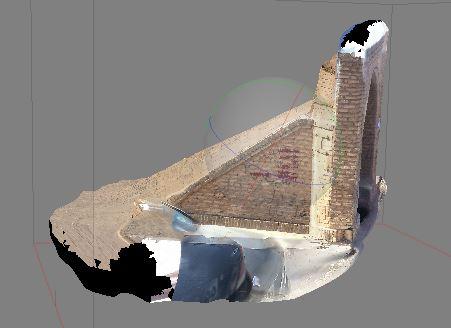اسکن سه بعدی اجسام و بناها توسط تیم فتوگرامتری برد کوتاه