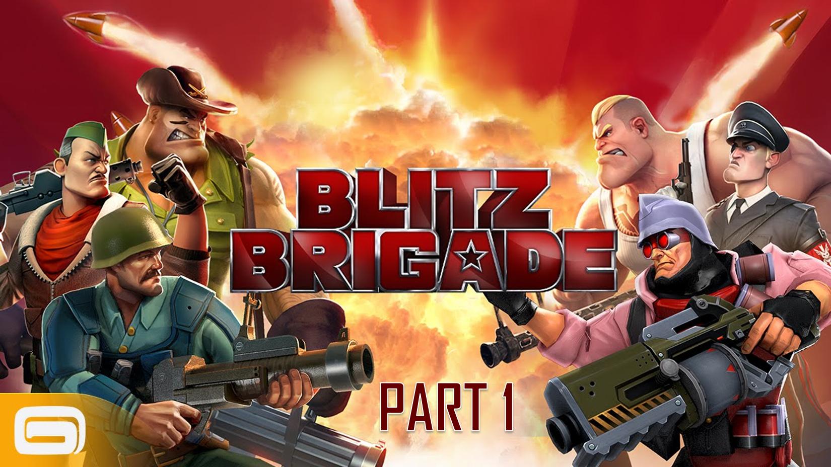 گیم پلی بازی Blitz Brigade برای کامپیوتر پارت 1