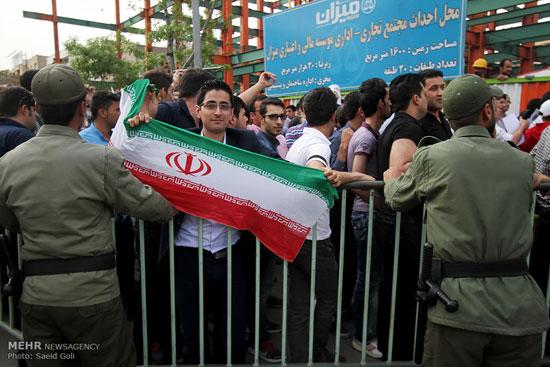 تصاویر تجمع مقابل سرکنسولگری عربستان