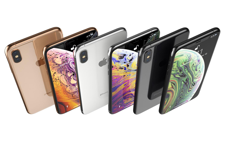 ch9i big e117dfb6d5 - مدل سه بعدی Iphone x و galaxy note 9 در رنگ های اصلی