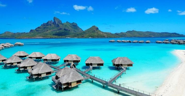 معرفی مکان های گردشگری جزیره بورا بورا تاهیتی