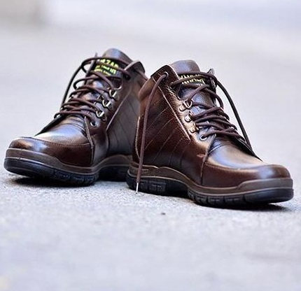 کفش چرم مردانه مهاجر مدل M37gh