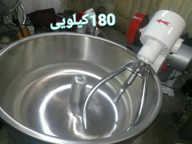 خمیرهم زن تمام استیل 180 کیلویی-خرید آن لاین-نمایندگی خمیرگیر اصفهان-بهترین مارک خمیرگیر