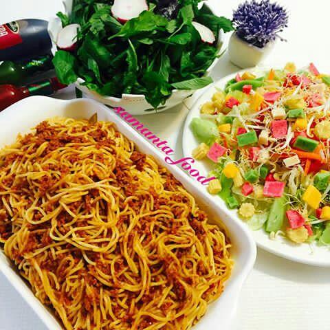 [تصویر: تزئین انواع ماکارونی، پاستا، اسپاگتی ...]