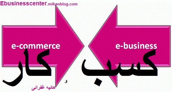 آموزش کسب و کار الکترونیکی e-business e-commerce