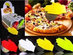 خرید ارزان چاقوی پیتزا بر طرح دست