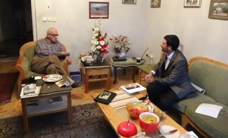مصاحبه نحل منفرد با دکتر نعمت الله شهرستانی