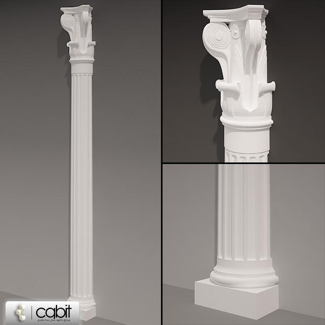 cx5g pil 1 - دانلود مدل سه بعدی ستون کلاسیک