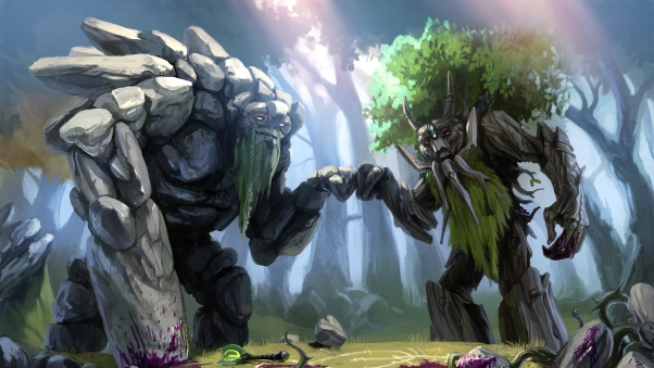 d0rb dota 2 treant protector trees art 101141 602x339
