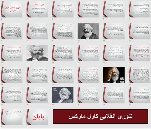 تئوری انقلابی کارل مارکس