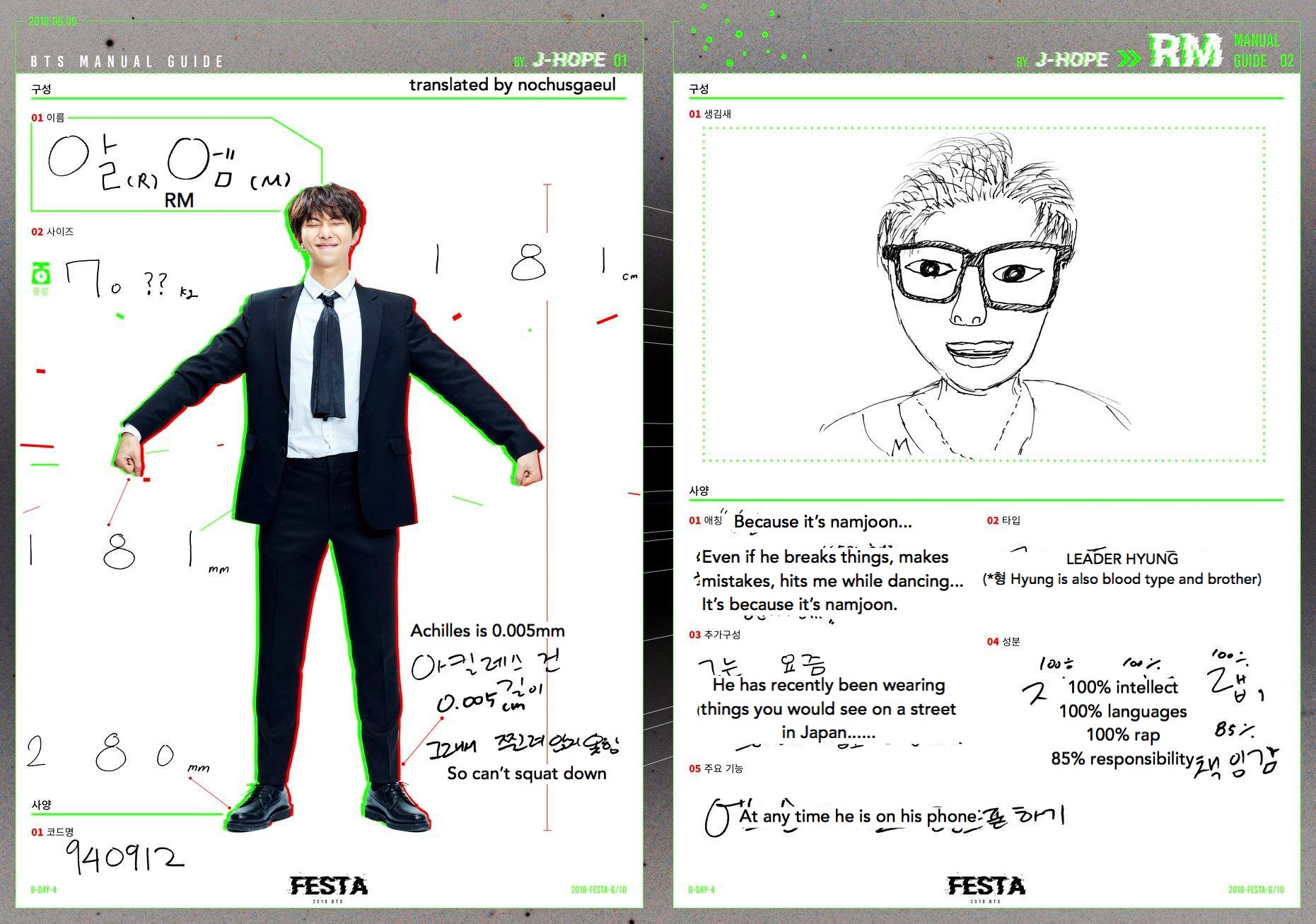 d6ex dfnbnf4x4aa 58r - [Picture] 2018 BTS FESTA : BTS MANUAL GUIDE [180809]
