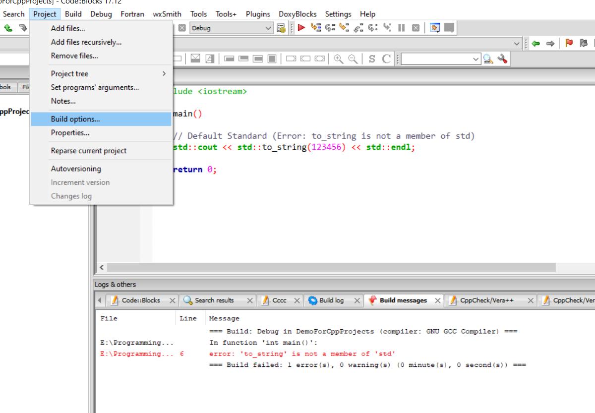 d82n 3 - خطاهای کتابخانه و اجرا نشدن توابع در ++c و کد بلاکس