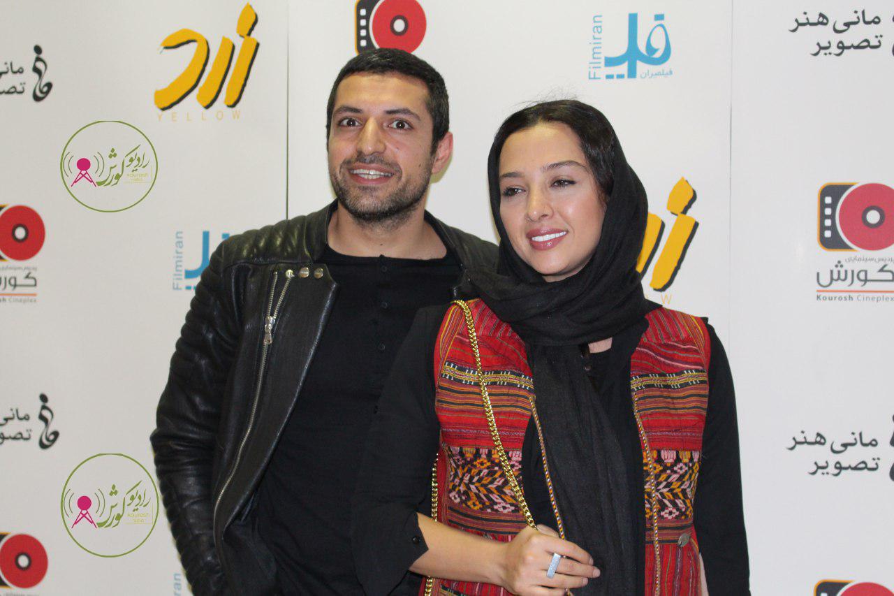 اکران مردمی فیلم زرد همراه با اشکان خطیبی