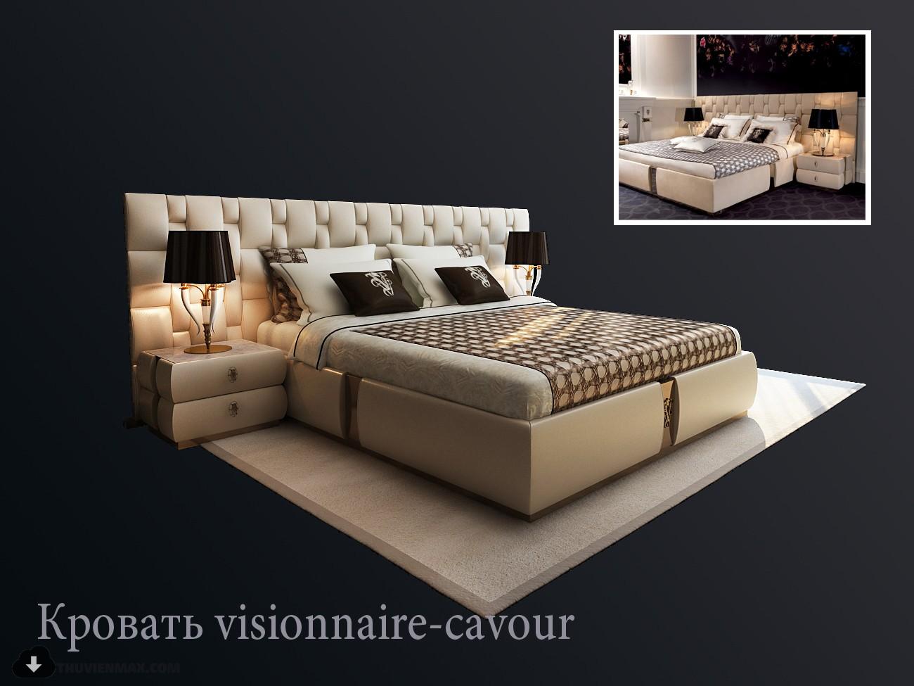 d9ax pro 2 - مجموعه مدل سه بعدی تخت خواب شماره 4