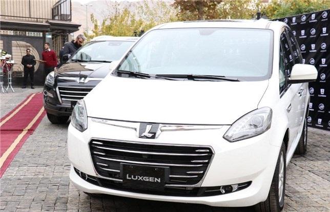 لوکسژن تایوانی توسط آرمان خودرو کویر رونمایی شد