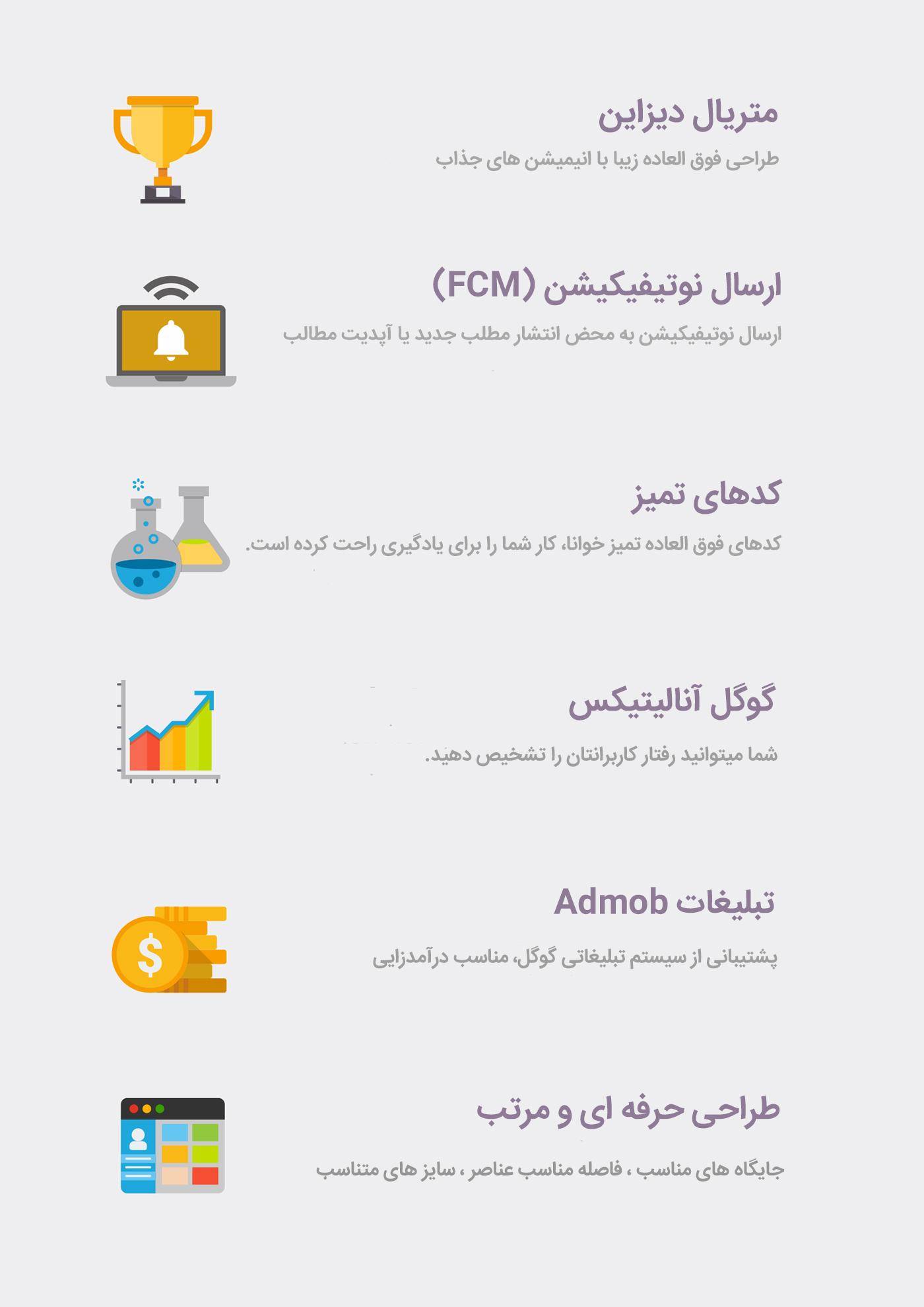 سورس اپلیکیشن وردپرس