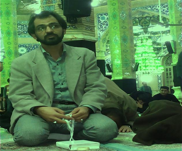 سلطان احمدی اعتکاف